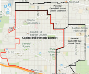 Capitol Region Map D.C.